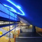 Ponteggio di manutenzione stazione metro