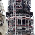 Restauro ponteggio campanile