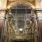 Restauro ponteggio chiesa
