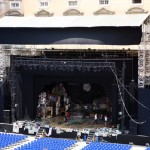 Palco con copertura ground support