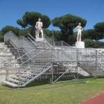 Scale di accesso pubblico per evento sportivo